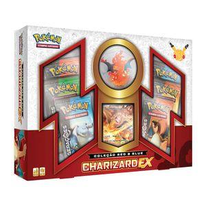 Jogo-Pokemon-Box-20-Anos-Colecao-Red---Blue-Charizard-EX---Copag
