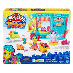 Play-Doh-Town-Playset-Pet-Shop---Hasbro