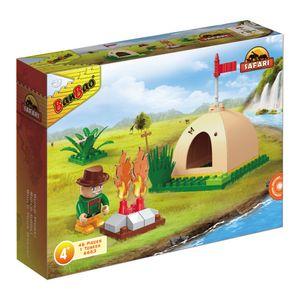 Safari-Mini-Acampamento-46-Pecas---Banbao