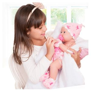 Boneca-Bebezinho-da-Mamae-com-Fralda-e-Luva---Cotiplas