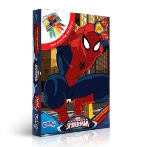 Homem-Aranha-Quebra-Cabeca-de-Pintar-100-Pecas---Toyster