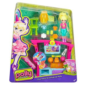 Polly-Pocket-Churrasco-Divertido---Mattel