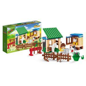 Eco-Fazenda-Estabulo-e-Granja-115-Pecas---Banbao