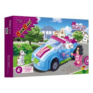 Mundo-Encantado-Carro-118-Pecas---Banbao