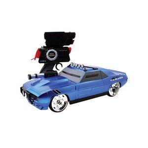 Carro-Controle-Remoto-Battle-Camaro-Azul---Candide