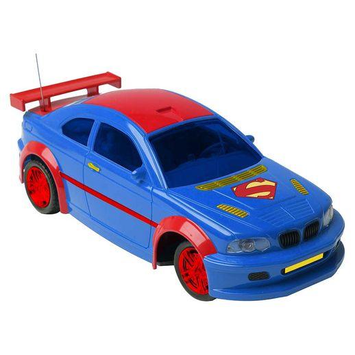 Carro-Controle-Remoto-3-Funcoes-Liga-da-Justica-Superman---Candide-