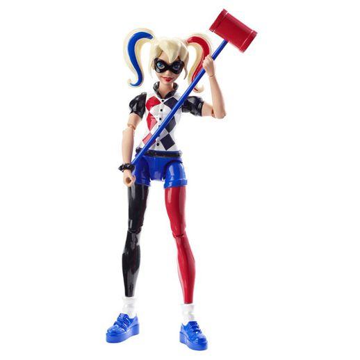 Boneca-de-Acao-DC-Super-Hero-Girls-Harley-Quinn-15cm---Mattel