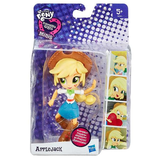 Mini-Boneca-My-Little-Pony-Equestria-Girls-Applejack---Hasbro