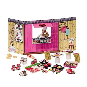 Barbie-Massinha-Food-Tuck-Comida-Japonesa-e-Sushi---Fun-Divirta-se