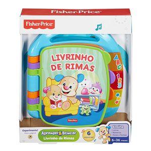 Fisher-Price-Aprender-e-Brincar-Livro-de-Rimas-Aprender---Mattel