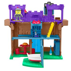 Imaginext-Bob-Esponja-Castelo-Siri-Cascudo---Mattel