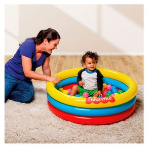 Fisher-Price-Piscina-Inflavel-com-Bolinhas---Intek