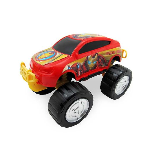 Vingadores-Carro-SUV-Roda-Livre-20-cm-Homem-de-Ferro---Toyng-
