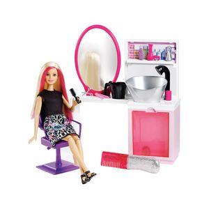 Barbie Fashion Salão Estilo e Brilho Loira - Mattel