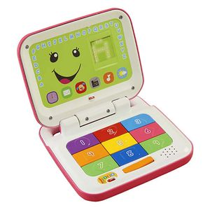 Laptop-Rosa-Fisher-Price-Aprender-e-Brincar---Mattel