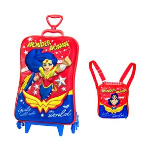 Kit-Mochila-3D-com-Rodas---Lancheira-DC-Super-Hero-Girls---Diplomata