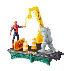 Playset-Marvel-Spider-Man-Rhino-Ataca---Hasbro