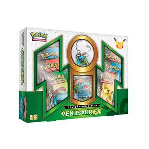 Jogo-Pokemon-Box-20-Anos-Colecao-Red---Blue-Venusaur-Ex---Copag-