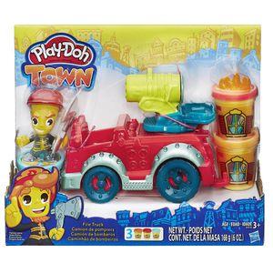 Conjunto-Play-Doh-Town-Carro-de-Bombeiro---Hasbro