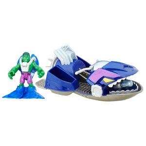 Playskool-Heroes-com-Veiculo-Lancha-Tubarao---Hasbro