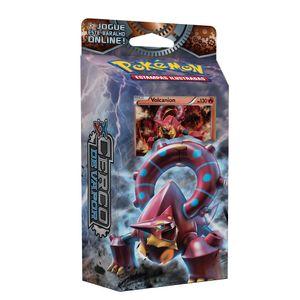Cartas Pokemon XY11 Starter Deck Cerco de Vapor Volcanion - Copag
