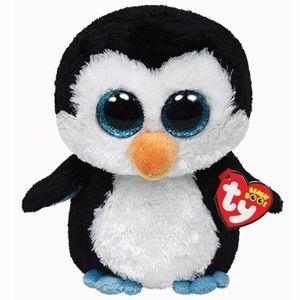 Pelucia-Media-Beanie-Boos-Pinguim-Waddles---DTC