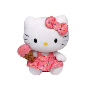 Beanie-Babies-Hello-Kitty-com-Sorvete---DTC