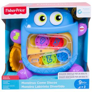 Fisher-Price-Monstro-Labirinto-Divertido---Mattel