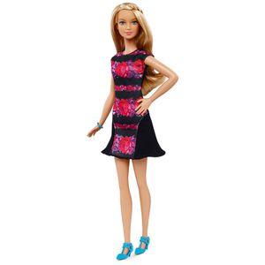 Barbie-Fashionista-Vestido-Florido---Mattel
