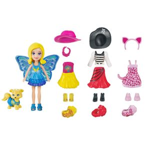 Polly-e-Cachorrinho-Looks-Combinados---Mattel