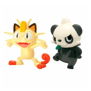Pokemon-Mini-Figura-Meowth-e-Pancham---Edimagic
