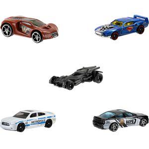 Pacote-com-5-Carros-System-Hot-Wheels---Mattel