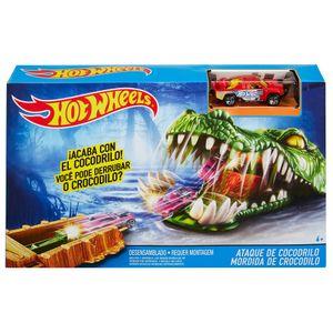 Hot-Wheels-Criaturas-Conjunto-Mordida-de-Crocodilo---Mattel