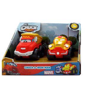 Mini-Carros-Chuck-and-Friends-Chuck-e-Iron-Man---Edimagic