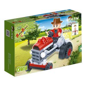 Trator-Vermelho-52-Pecas---Banbao