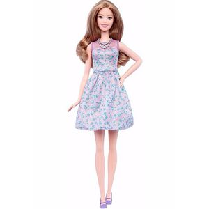 Barbie-Fashionista-Vestido-Floral---Mattel