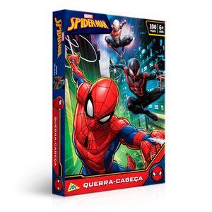 Quebra-Cabeca-Spider-Man-100-Pecas---Toyster