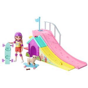 Barbie-Familia-Chelsea-Pista-de-Skate---Mattel