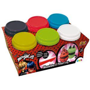 Massinha-de-Modelar-Miraculous-Ladybug-6-Potes---Fun-Divirta-se