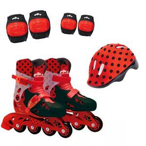 Ladybug-Patins-com-Acessorios-Tamanho-33-ao-36---Fun-Divirta-se