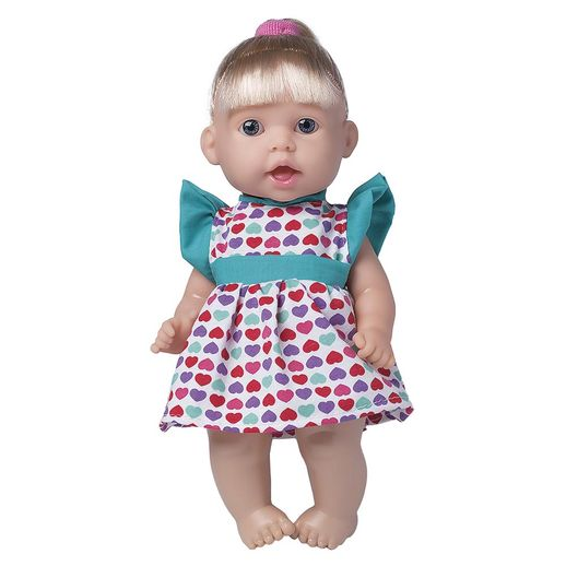 7a35133c4 Boneca Sonho Azul Frases Vestido de Coração - Cotiplás