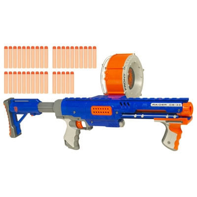 Nerf - N-Strike Raider Rapid Fire CS-35 - Hasbro