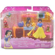 Disney Cenário das Mini Princesas Branca de Neve - Mattel