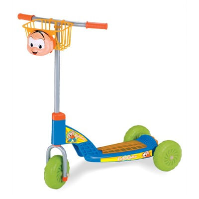 Patinete Cebolinha Azul - Magic Toys