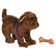 Pelucia-Fur-Real-Newborn-Cachorro-Chocolate---Hasbro