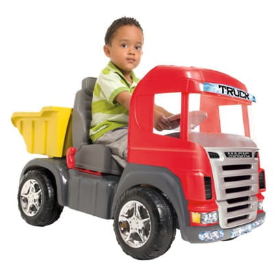 Caminhao-Truck-a-Pedal-Vermelho---Magic-Toys