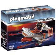 Playmobil Mergulhador com Atirador Top Agents 4883 - Sunny