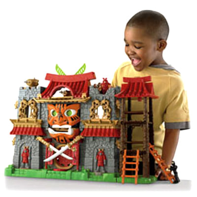 Castelo Samurai Imaginext Fisher Price - Mattel