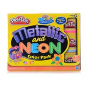 Play-Doh-Massinha-Metalica-Neon---Hasbro