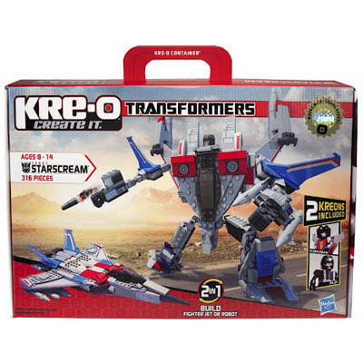 Blocos de Montar KRE-O Transformers Starscream - Hasbro